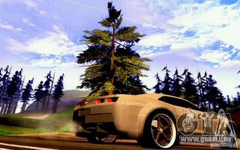 Chevrolet Camaro Tuning für GTA San Andreas zurück linke Ansicht