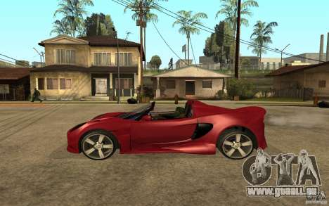 Lotus Elise from NFSMW pour GTA San Andreas