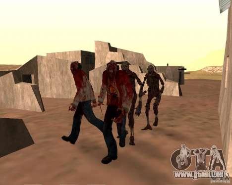 Zombie Half life 2 pour GTA San Andreas sixième écran