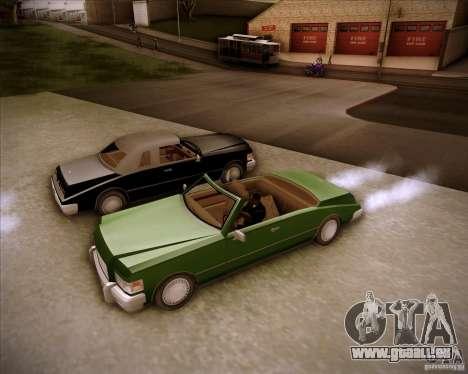 HD Idaho pour GTA San Andreas sur la vue arrière gauche