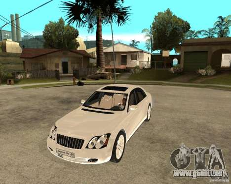 Maybach 57 S pour GTA San Andreas