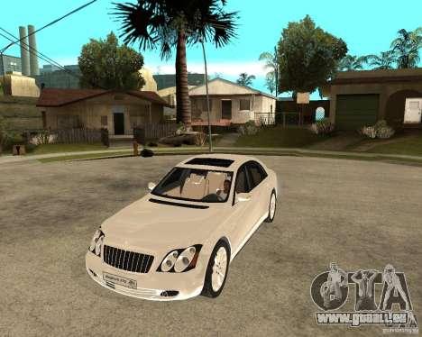 Maybach 57 S für GTA San Andreas