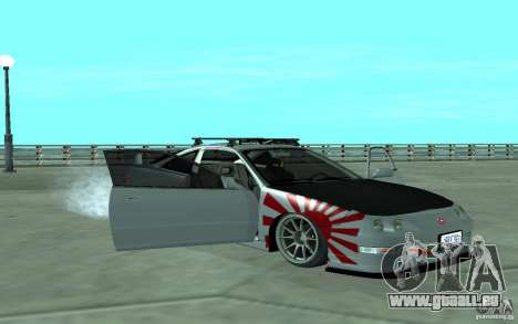 Acura Integra Type-R pour GTA San Andreas vue de côté