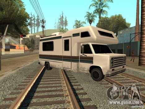 Maison sur roues pour GTA San Andreas