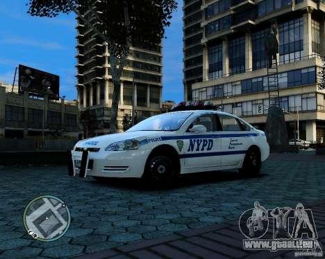 NYPD Chevrolet Impala 2006 [ELS] pour GTA 4