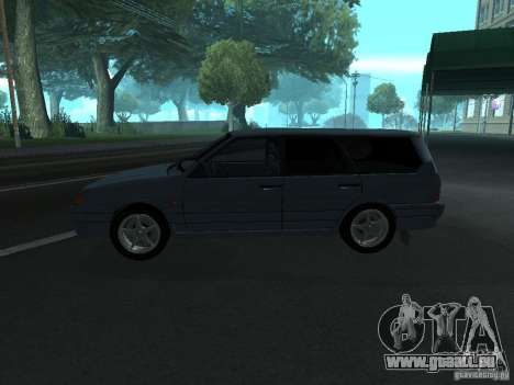 Tourisme 2114 ВАЗ pour GTA San Andreas laissé vue