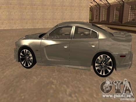 Dodge Charger SRT8 2011 V1.0 pour GTA San Andreas sur la vue arrière gauche