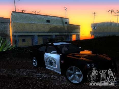 Dodge Charger SRT8 Police für GTA San Andreas rechten Ansicht