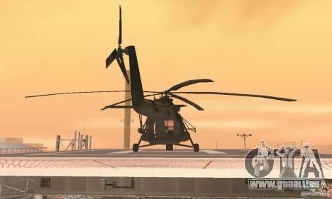 MI-17 pour GTA San Andreas vue intérieure
