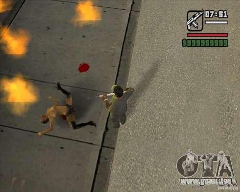 Real Ragdoll Mod Update 2011.09.15 pour GTA San Andreas deuxième écran