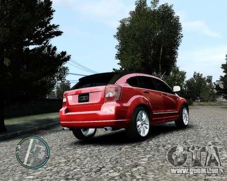 Dodge Caliber für GTA 4 obere Ansicht