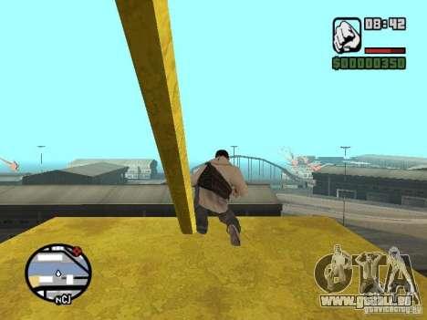Desmond Miles pour GTA San Andreas neuvième écran