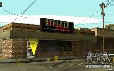 Boutique d'armes S. T. A. L. k. e. R pour GTA San Andreas