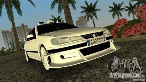 Peugeot 406 Taxi 2 pour GTA Vice City