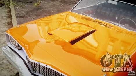 Dodge Dart GT 1975 [Final] pour GTA 4 vue de dessus