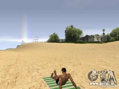 Natte de repos pour GTA San Andreas troisième écran