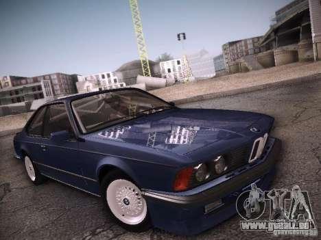 BMW E24 M635CSi 1984 pour GTA San Andreas