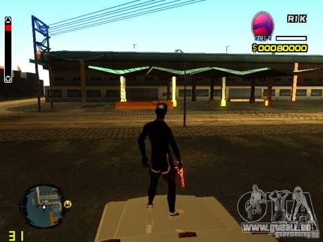 Nouvelle peau plage pour GTA San Andreas deuxième écran
