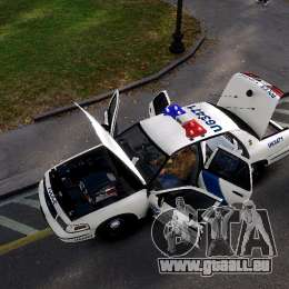 Ford Crown Victoria Homeland Security pour GTA 4 est un droit