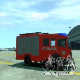 Mercedes-Benz Atego Fire Departament für GTA 4 rechte Ansicht