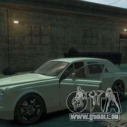 Rolls-Royce Phantom pour GTA 4 vue de dessus