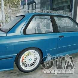 BMW M3 E30 FINAL für GTA 4 linke Ansicht