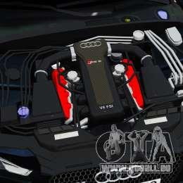 Audi RS5 2012 für GTA 4 Rückansicht