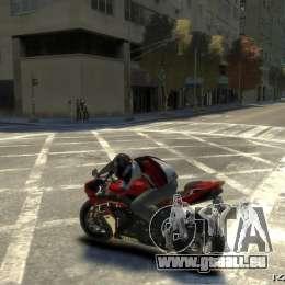 Yamaha R1 RN12 pour GTA 4 est un côté