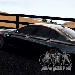 BMW M5 F10 2012 pour GTA 4 est une gauche