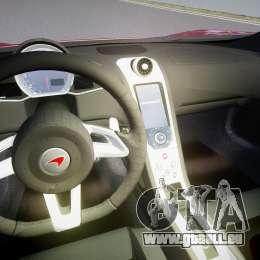 McLaren MP4-12C [EPM] für GTA 4 Rückansicht