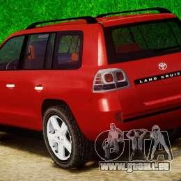 Toyota Land Cruiser 200 2007 pour GTA 4 est un côté