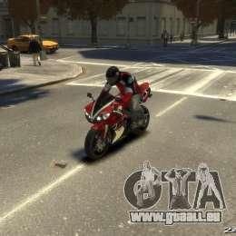 Yamaha R1 RN12 für GTA 4 linke Ansicht