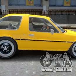 AMC Pacer 1977 v1.0 für GTA 4 Innenansicht