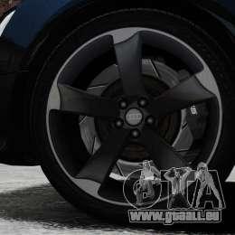 Audi RS5 2012 pour GTA 4 est une vue de l'intérieur