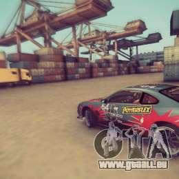 Tokyo Drift map für GTA San Andreas