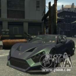 Zenvo ST1 2010 v2.0 pour GTA 4