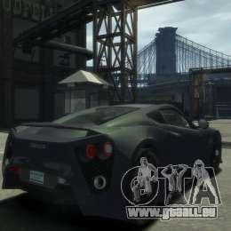 Zenvo ST1 2010 v2.0 für GTA 4 linke Ansicht