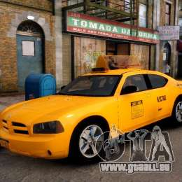 Dodge Charger NYC Taxi V.1.8 pour GTA 4 est un droit