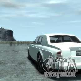 Rolls-Royce Phantom pour GTA 4 Vue arrière de la gauche