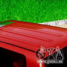 Toyota Land Cruiser 200 2007 pour GTA 4 vue de dessus