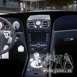 Bentley Continental SS 2010 ASI Gold [EPM] für GTA 4 rechte Ansicht