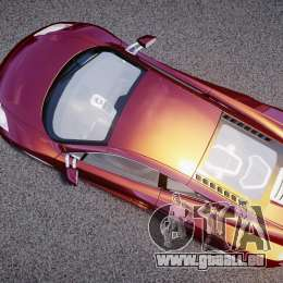McLaren MP4-12C [EPM] pour GTA 4 est un droit