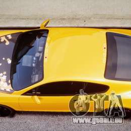 Bentley Continental SS 2010 ASI Gold [EPM] für GTA 4 Unteransicht