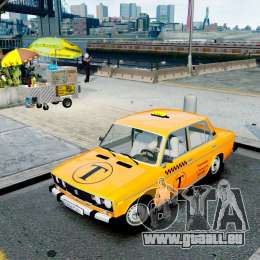 VAZ 2106 Taxi pour GTA 4