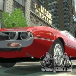Alfa Romeo Montreal 1970 pour GTA 4 est un droit