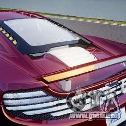 McLaren MP4-12C [EPM] für GTA 4 Unteransicht