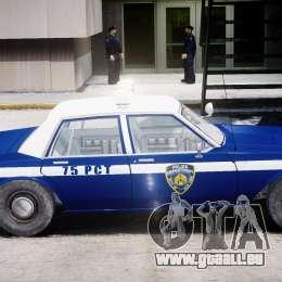 Chevrolet Impala Police 1983 [Final] pour GTA 4 Vue arrière de la gauche