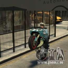 Yamaha R1 RN12 pour GTA 4 est un droit