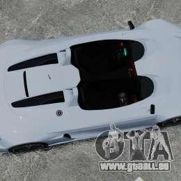 Audi R8 Spider Body Kit Final für GTA 4 rechte Ansicht