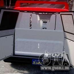 GMC Vandura A-Team Van 1983 pour GTA 4 Vue arrière